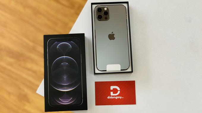Thiết kế iPhone 12 Pro 256GB được lấy cảm hứng từ thế hệ iPhone cũ