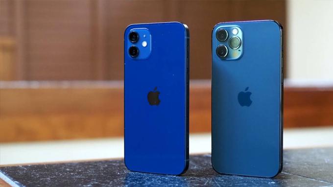 Thiết kế iPhone 12 64GB cũ thoạt nhìn khá giống với các model iPhone 11