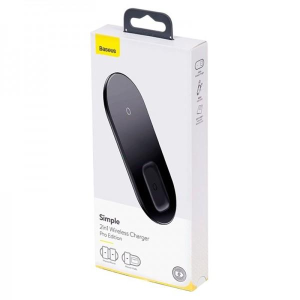 Đế sạc không dây Baseus 2in1 (Phone & Airpods)