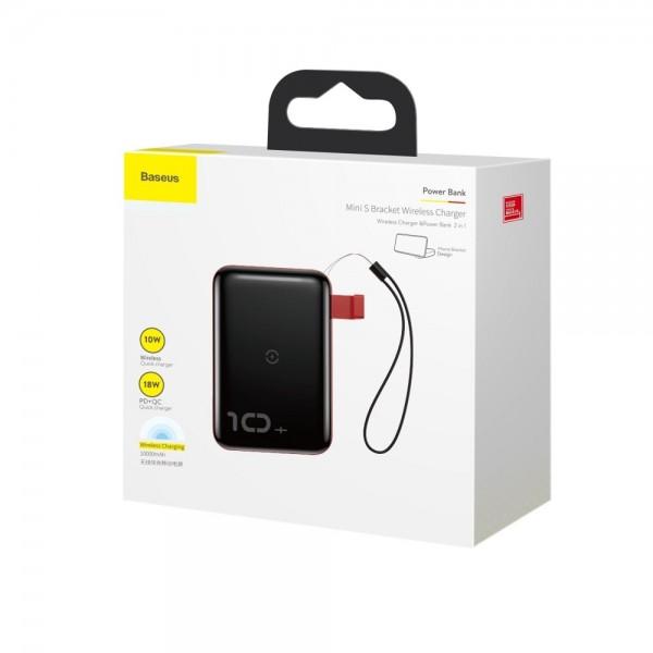 Pin dự phòng không dây Baseus 10.000mAh (18W Charge-10W Wireless)